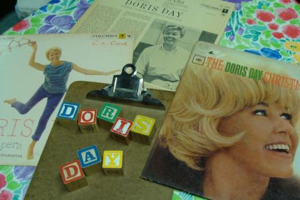 Here she is!  Who doesnt love Doris Day?  She just makes you smile...