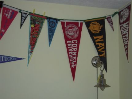 A couple of these pennants are 40 years old!