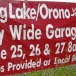 CITY WIDE GARAGE SALE June 25, 26, 27 2009 8:00 to 5:00  SHOPPERS  Garage sale maps may be picked up at the following chamber member businesses. Country Cake Cupboard Albers Jewelry Lakeside Wines & Spirits Club Mutts Plante Chiropractic Farringtons Lake Community Bank Otten Bros. Nursery  For more information visit http://www.longlake-orono.org/Site.do