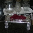 Cheese Grater Tray with Clear Relish Dish