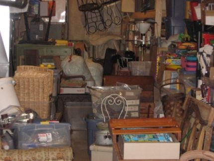 Heres a sample, not including whats piled up in the rest of house, basement, garage and any other place I can stash projects in waiting! Last summer I smelled smoke down here and called the fire dept. to check it out. I learned the smell was wafting smoke from a controlled burn at a nearby park, so no fire here! I did get quite a lecture from the fireman about having so much stuff in the basement!