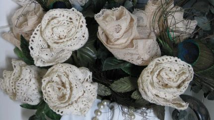Lace and Roses