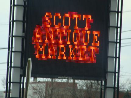 Welcome to the Scott Antique Market - at THE Ohio State Fairgrounds in Columbus, Ohio!