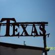 When you see this sign, you know you have arrived at Marburger Farms. Helloooo Texas!