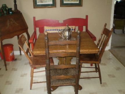 I Have Always Dreamed Of A Farm Table With Mismatched Chairs In My Kitchen