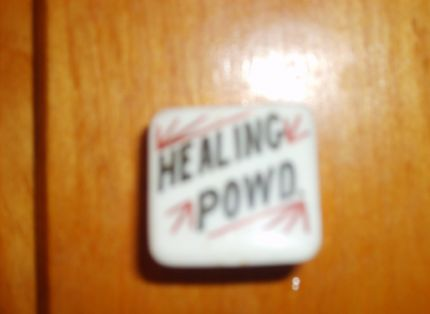 Healing Powder...Man, whyd they quit making this Stuff!!!!  Probably some pharmaceutical company lobbied against it.
