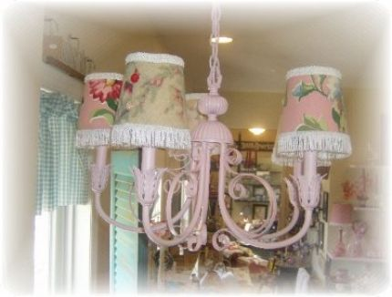 A Shabby Chic Style Chandelier