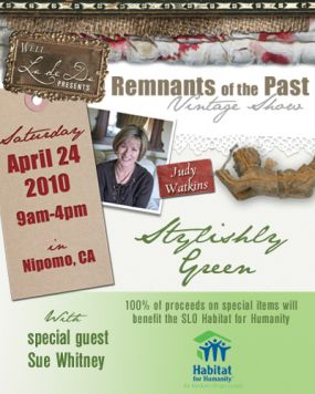 Check out the Remnants of the Past Vintage Show site for all the details.