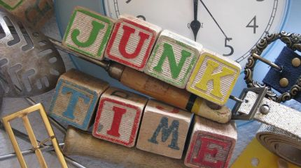 Any time is junk time. I had a junking good time.