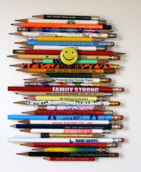 My pencil project< thanks to fellow junk member contributor Jenny Kompolt
