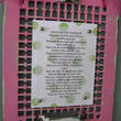 Make it Pink Project- Prayer Grate