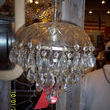 Number 6: Here is yet another oldie, but goodie. A vintage crystal chandelier. What could be more enlightening? Loose crystals are equally as fine!