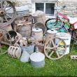 We have been rescuing items; first, from a friends farm.   These are all cleaned up and ready to go