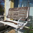 Love, love, love this porch swing.