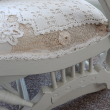 Its all in the details...  And, the fabulous old design of this rocker has been screaming to be noticed again!
