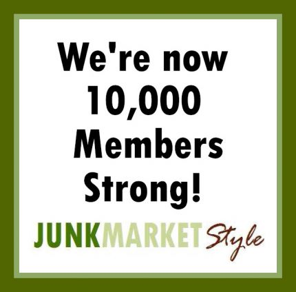 10,000 members multiplied by 10 friends each (I know you all have at least 10 friends because you cant junk alone) equals 100,000.