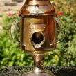 Copper Sugar Canister Silverplate Cage Upcycled Bird House
