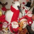 fun snowmen, Santas and reindeer and a giant penguin