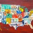 http://www.junkmarketstyle.com/item/33130/license-plate-map-process From Design Turnpike
