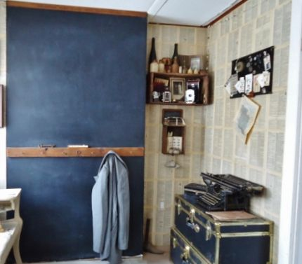 Dictionary Page Wallpaper & Chalkboard Walls