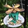 Propeller & License Plate Bird Feeder
