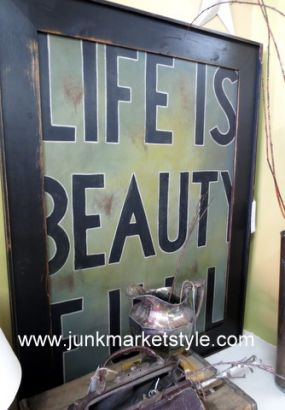 Aint life Beauty full??? See you at Vintage Marketplace in Springfield, Ohio...September 14, 15, and 16 2012.