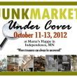 JUNKMARKET Under Cover ....Last Day at Mama's Happy!  Come check us out!