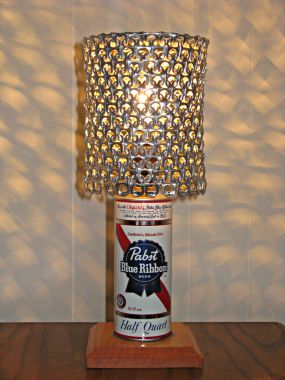 Can Lamps With Pull Tab Shades Junkmarket Style