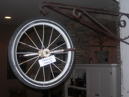 Tricycle Wheel Sign