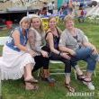 Some of my fellow JUNKMARKET girlfriends chillin and enjoying the concert!   From left to right Kathy Stantz of Nostalgias Cottage, Annie de Jongh of Grace and Corazon, me, and Diane Perry of the Pfarkel sisters.