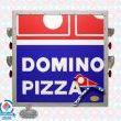 Dominos SecondHandLogos.com GadgetSponge Repurposed Sign Community Birdhouse