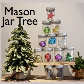 Mason Jar Christmas Tree