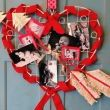 Valentine Photo Wreath