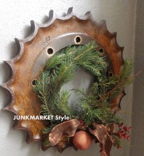 Deck the walls with industrial gears!