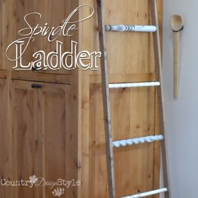 Decorative Spindle Ladder