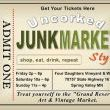 Yuppers! You can pre-order your tickets and save money. Twofer! Follow the link below to get your tickts NOW! Cant wait to get uncorked with you! http://www.junkmarketstyleevents.com/p/purchase-your-tickets.html