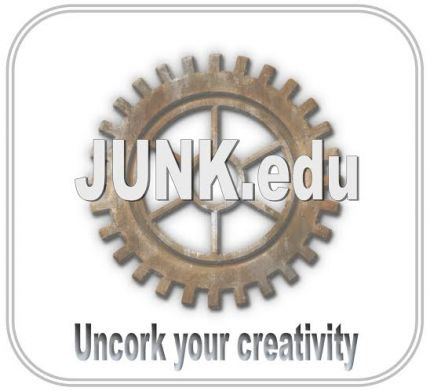 For more information on JUNK.edu classes and t reserve your space at the creative table click here.
