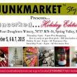 Stay tuned to JUNKMARKET Style Events or Uncorked JUNKMARKET Style for all of the details!