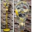 City Parking Meter re-purposed into an awesome Industrial floor lamp by Loftyideas4u
