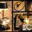 I call this Vintage Steampunk lamp Light Conversation by Loftyideas4u