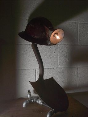MINERS TRIBUTE LAMP