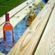 DIY Gutter Wine Cooler