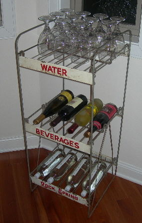 Old Beverage Holder Wine Bar