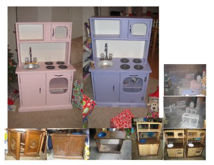 Kitchen Sets In Progress