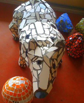 how to make cultured mosaic