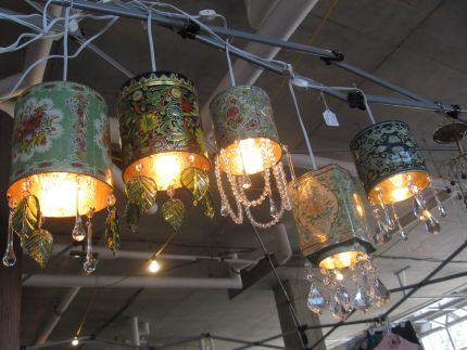 Photo a grouping of my tea tin lights & Vintage tea tin pendant lights - JUNKMARKET Style azcodes.com
