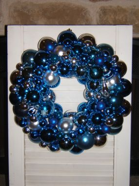Mississippi Blues Vintage Ornament Wreath