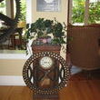 This time clock is a lovely side piece in my dining room.