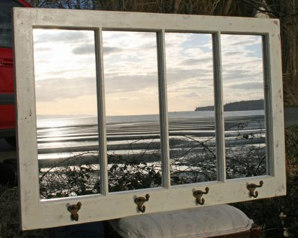 Lifes A Beach Mirror Window Frame