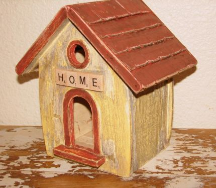Front of Birdhouse